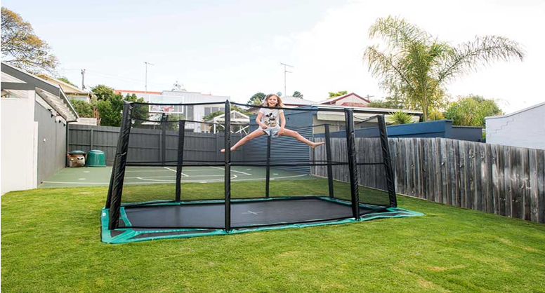 Why Parents Feel That Sunken Trampolines Are Safer Than Regular Trampolines